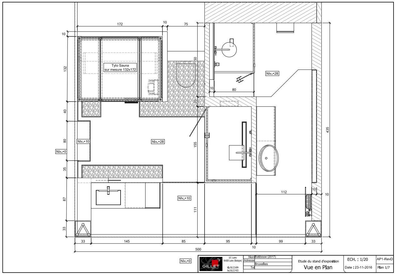 batibouw 2017 cr ations gillet. Black Bedroom Furniture Sets. Home Design Ideas